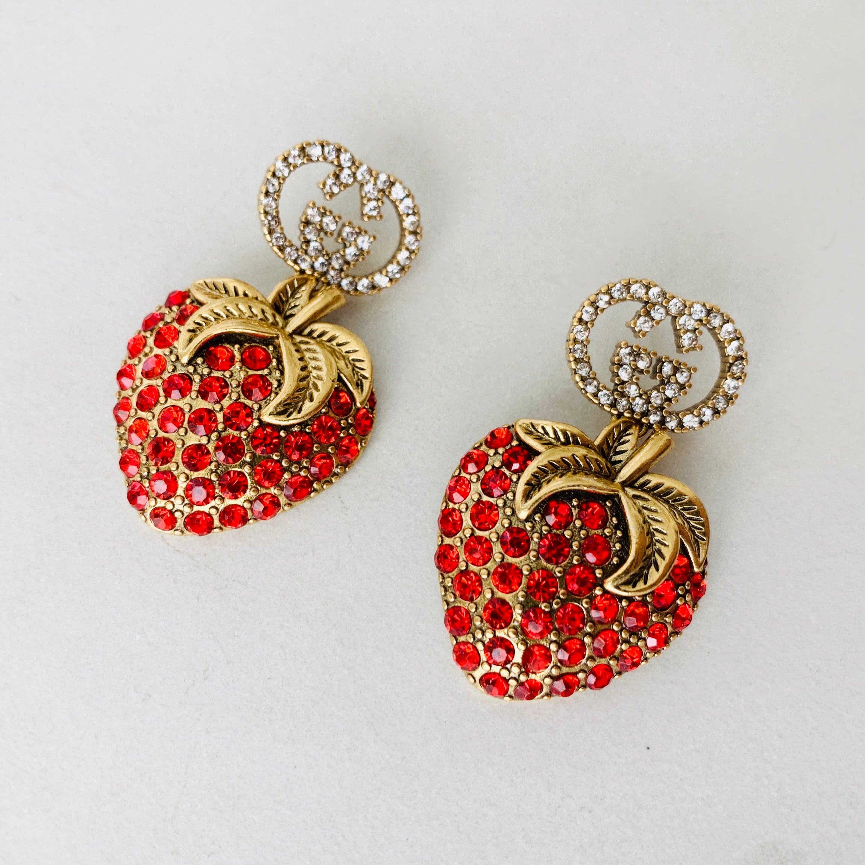 GG Strawberry Earrings