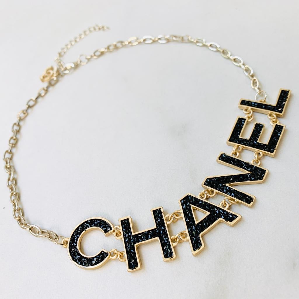 CC Letter Necklace