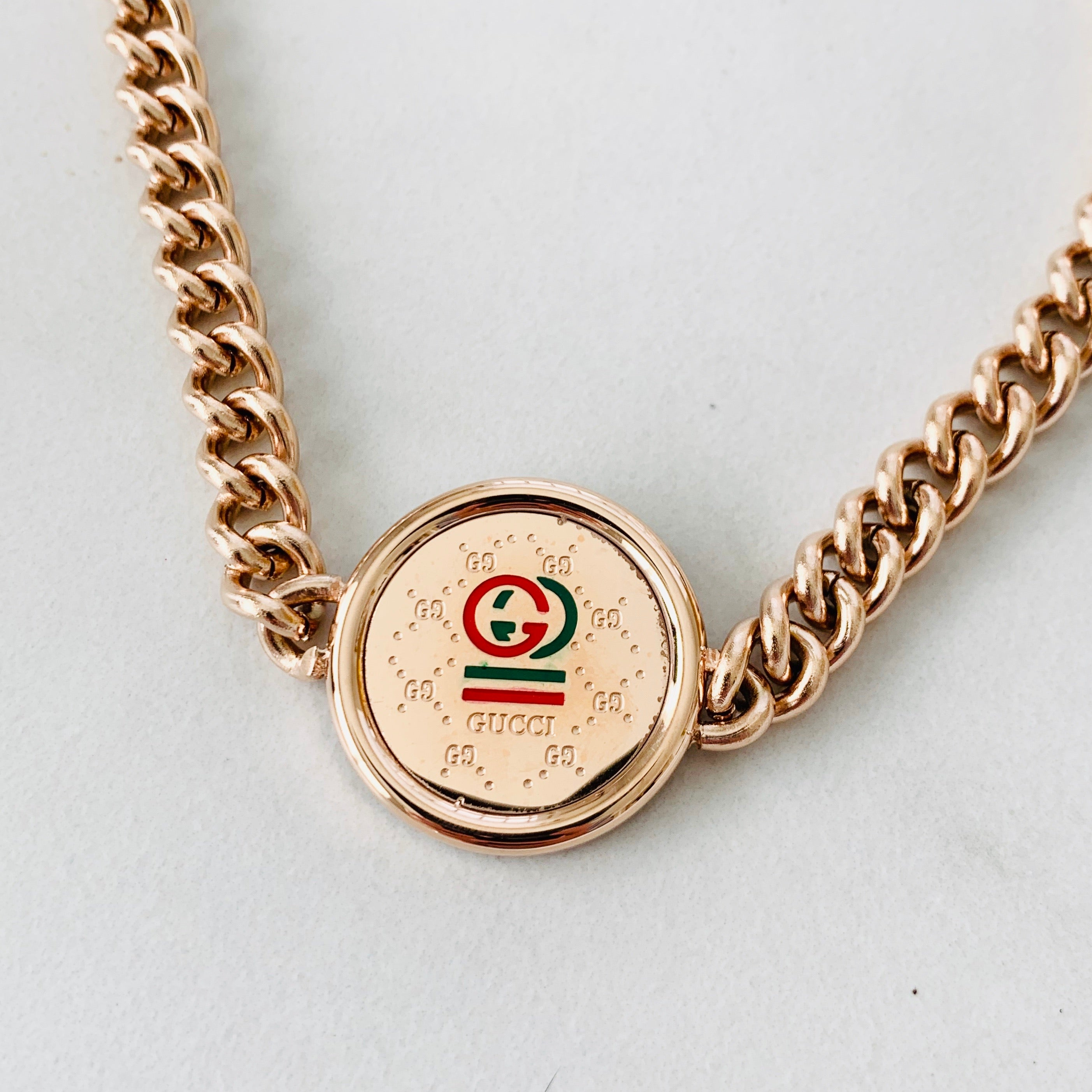 GG Rose Gold Chain Necklace