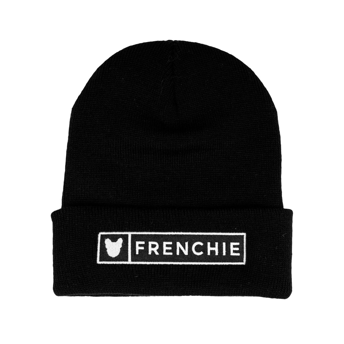 Black Frenchie Beanie