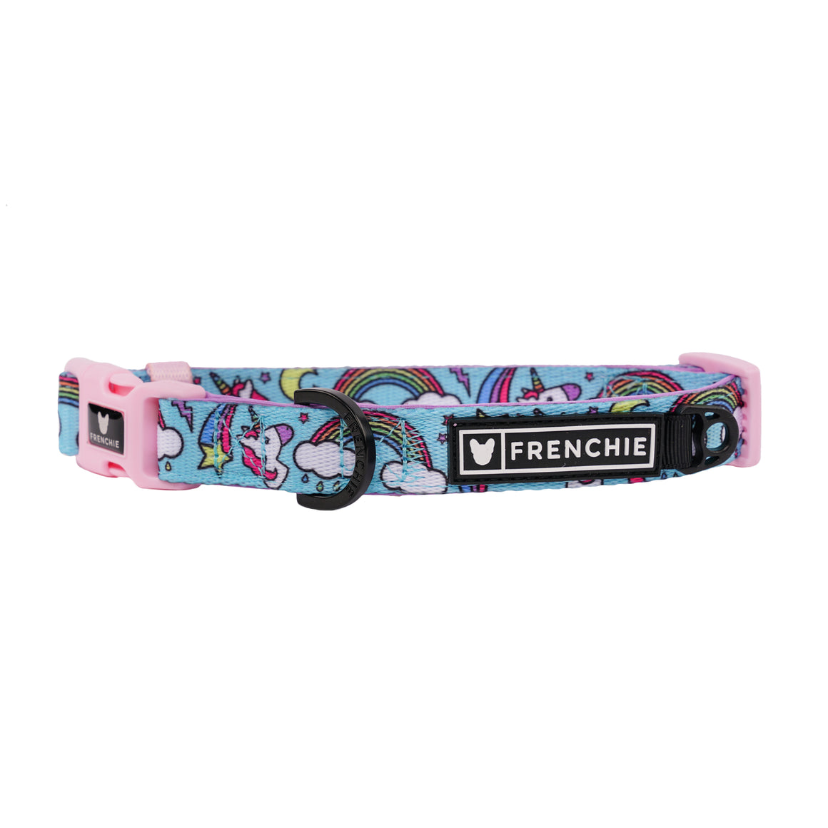 Frenchie Comfort Collar - Blue Magical Unicorn