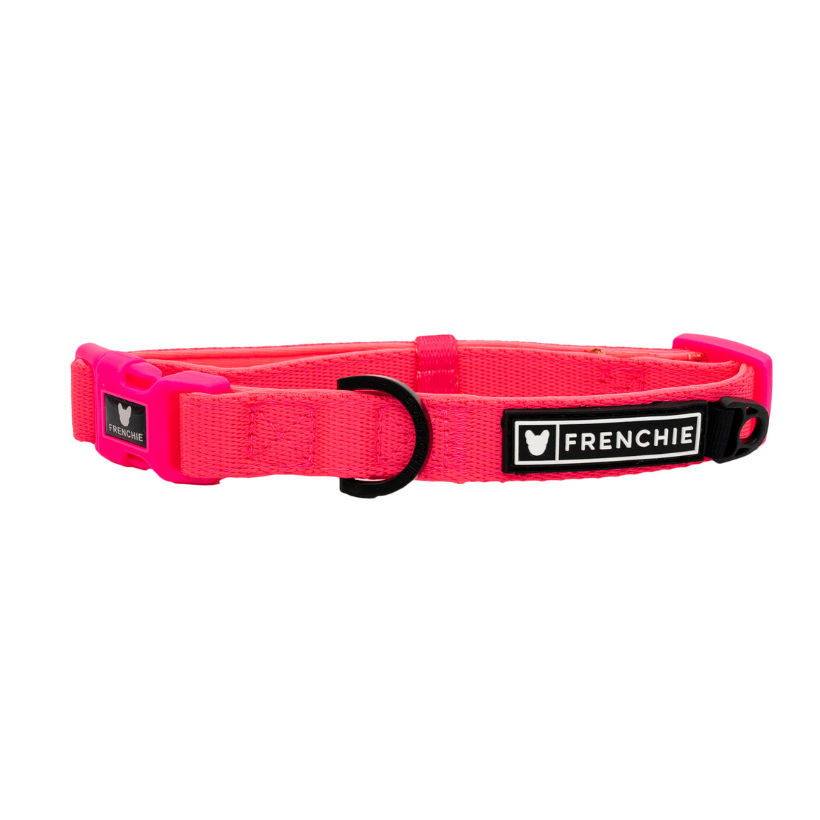 Frenchie Comfort Collar - Neon Pink