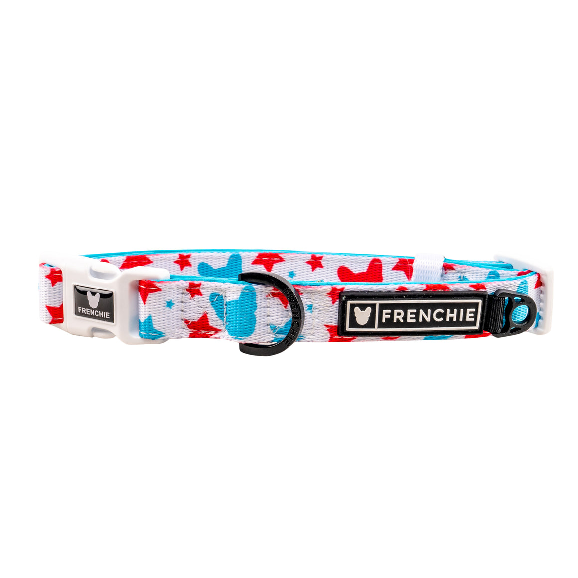 Frenchie Comfort Collar - 4th of July Tie Dye