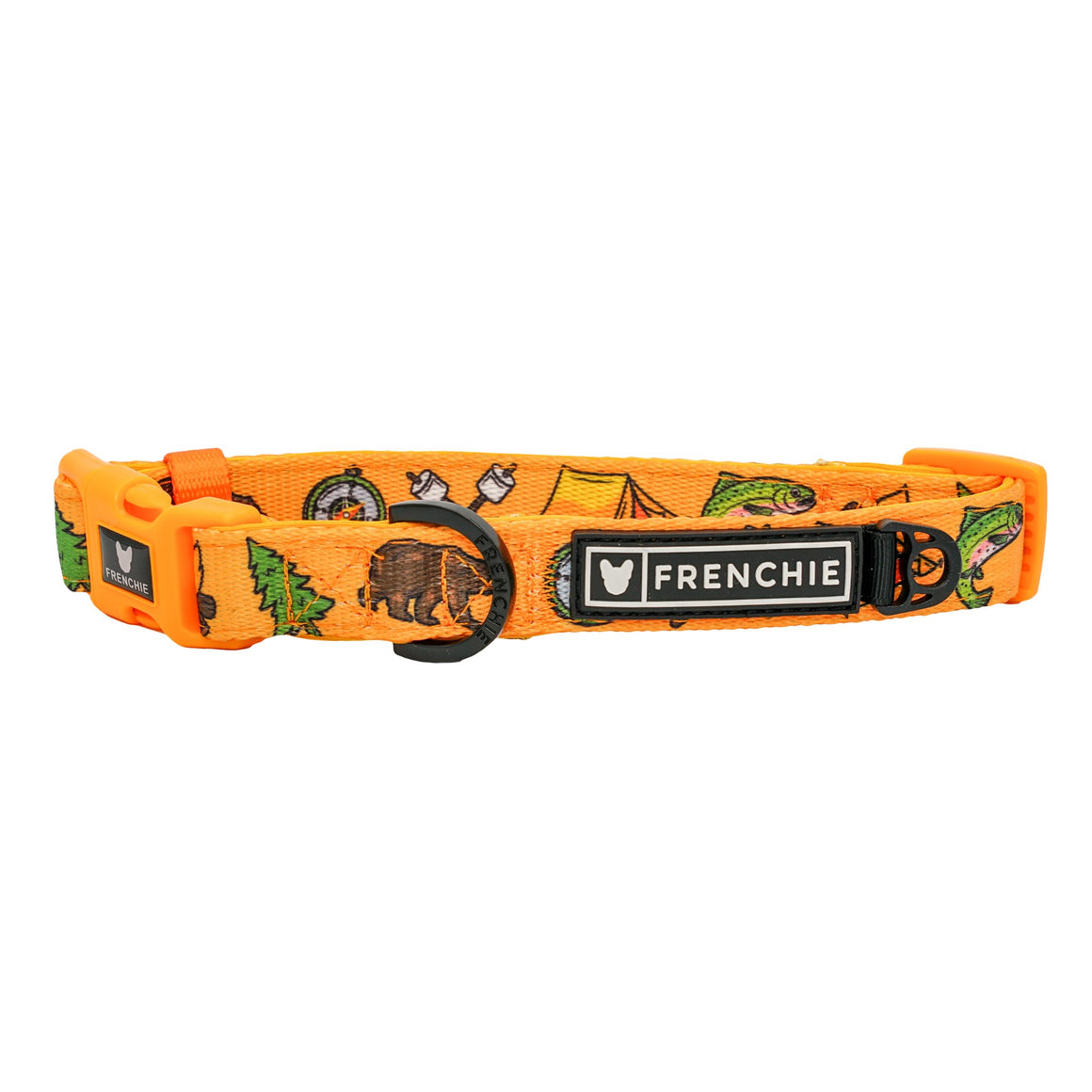 Frenchie Comfort Collar - Happy Camper