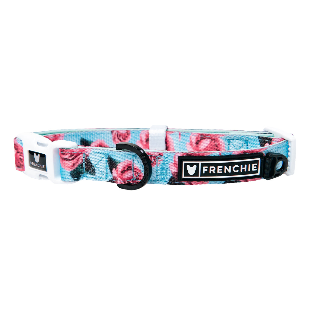 Frenchie Comfort Collar - Rosebud