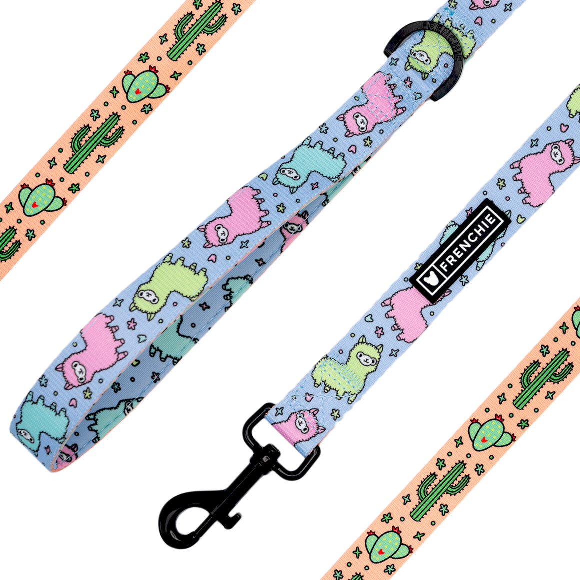Frenchie Comfort Leash - No Prob-Llama