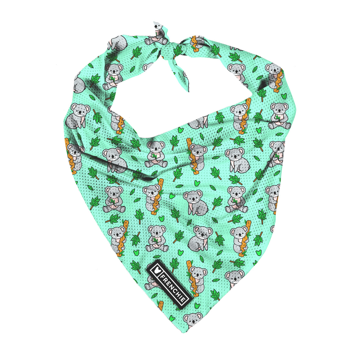 Frenchie Cooling Bandana - Koala