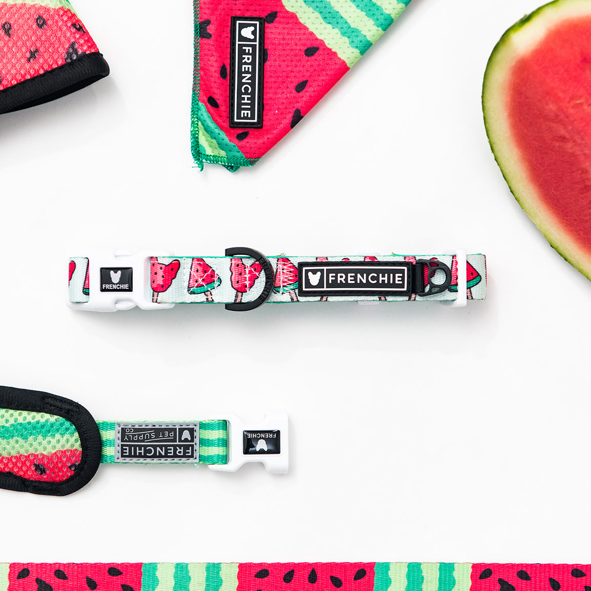 Frenchie Comfort Collar - Watermelon