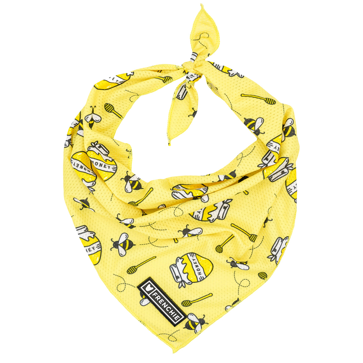 Frenchie Cooling Bandana- Honeybee