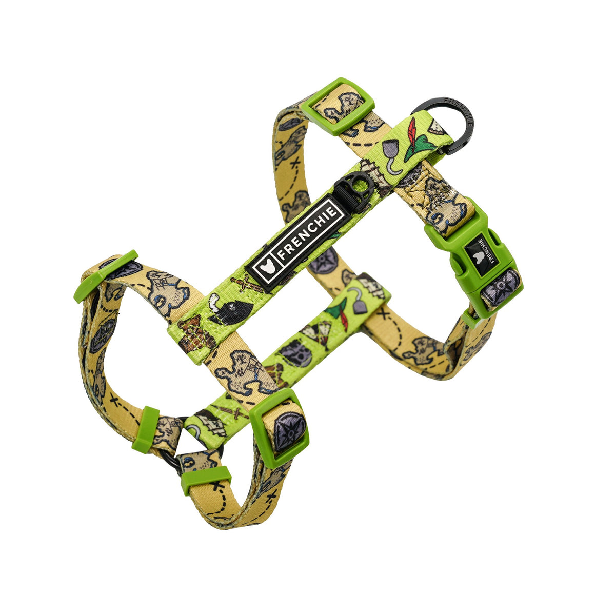 Frenchie Strap Harness - Pirate's Cove