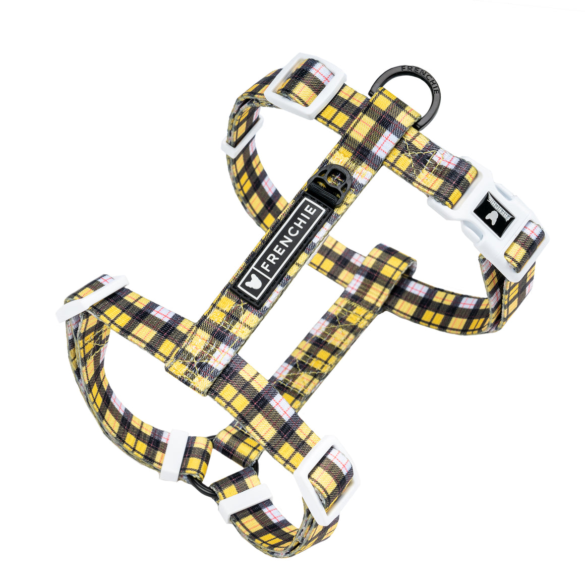 Frenchie Strap Harness - Get A Clue