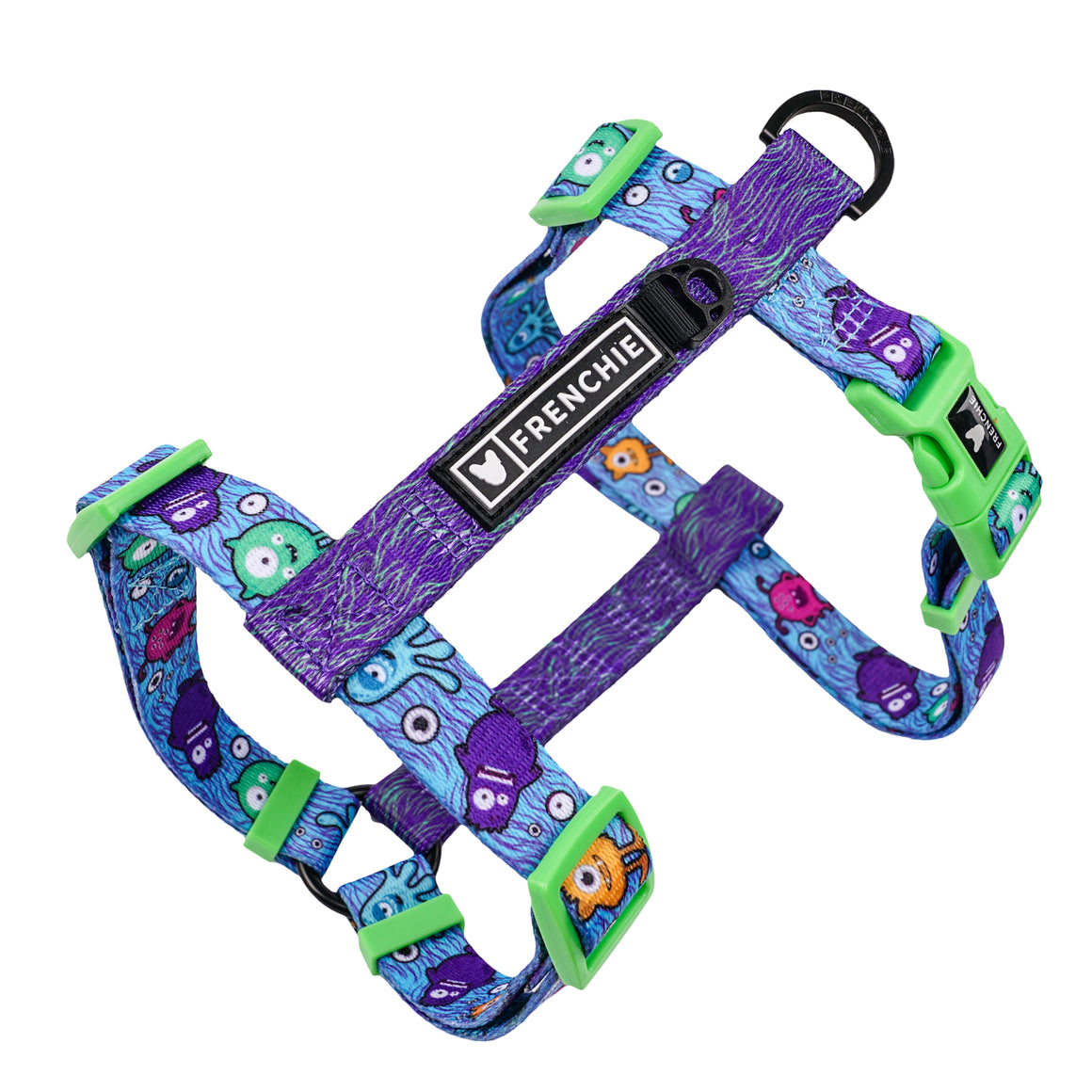 Frenchie Strap Harness - Monster Madness