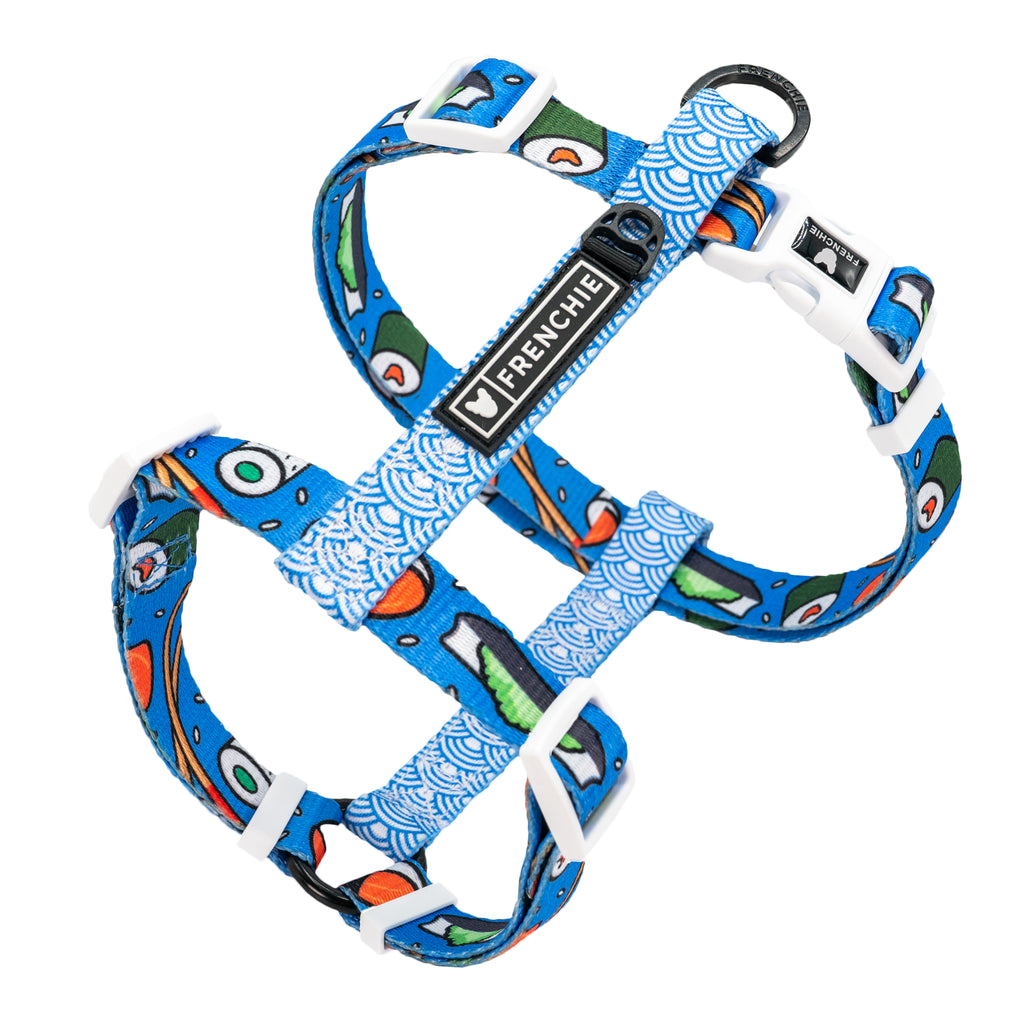 Frenchie Strap Harness - Sushi