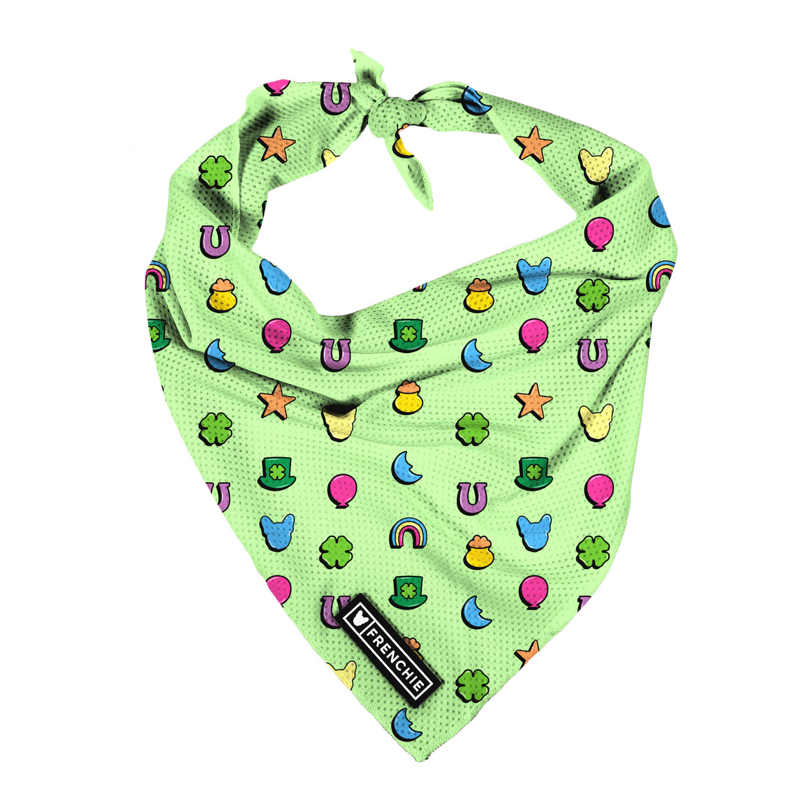Frenchie Bandana - Good Luck Charms