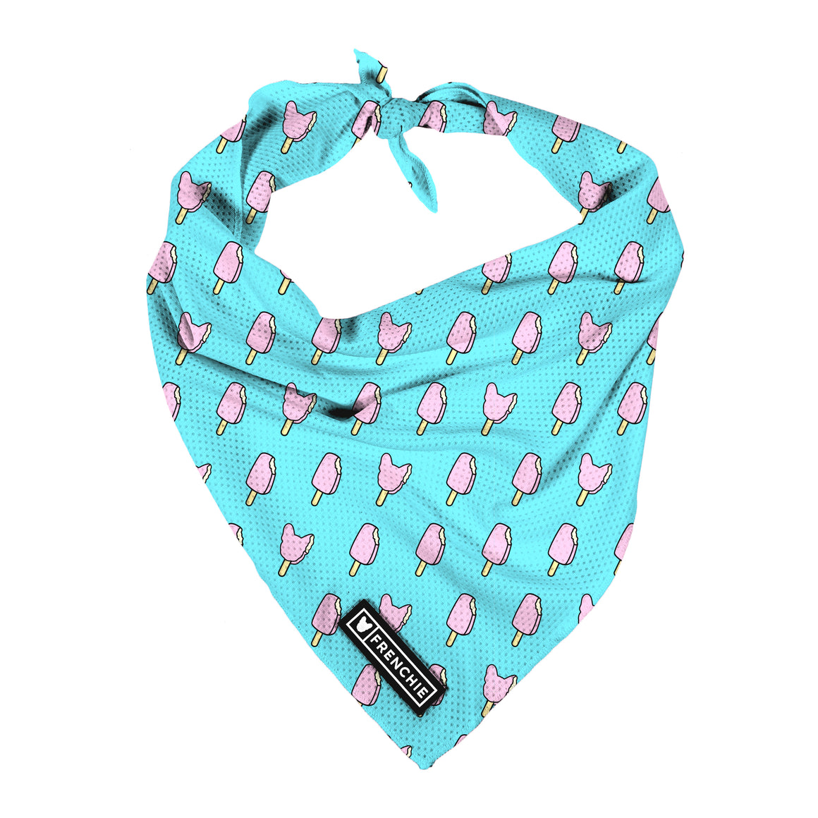 Frenchie Cooling Bandana- Pop Skull