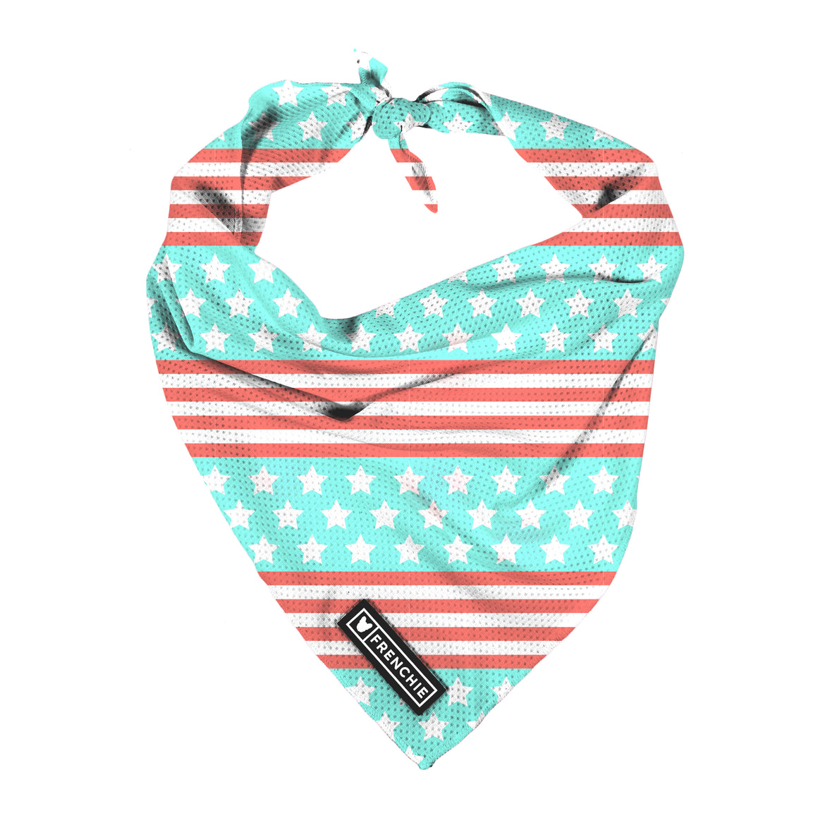 Frenchie Cooling Bandana- Stars and Stripes