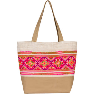 Large Hmong Tote Bag