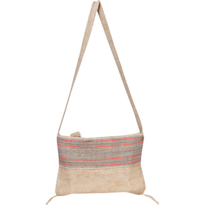 Striped Bag with Khmu Vine Base