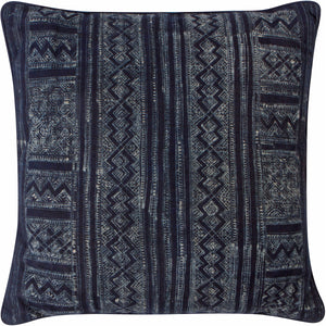 Indigo Batik Pillow Cover
