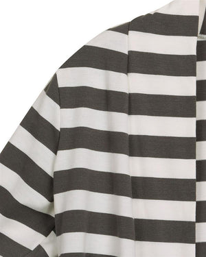 Dalia Striped Cardigan Sweater Plus Size