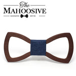 WoodenPie handmade men wooden bowtie