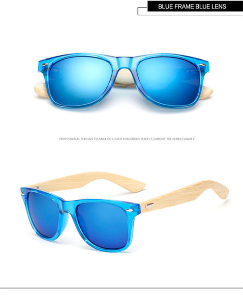 WoodenPie economy bamboo sunglasses for men and women.