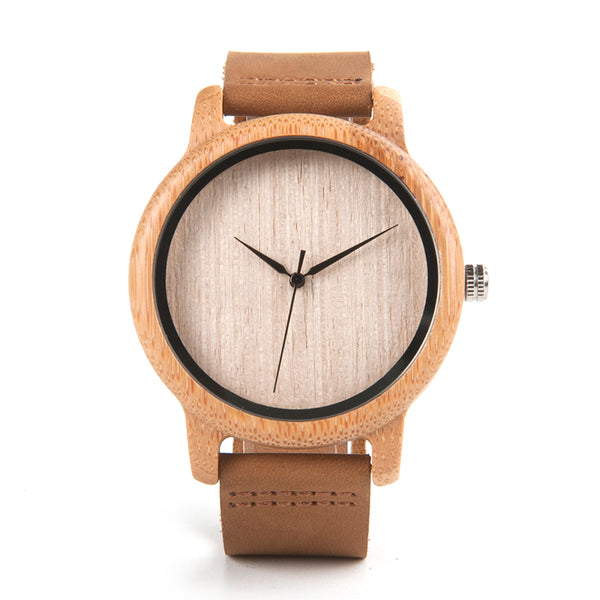 WoodenPie Bamboo watch for men and women