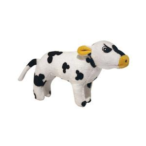 Cassie Cow Jr High Quality Dog Toy - Durable Dog Toy for Medium Sized Dogs - Tuffie Toys