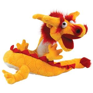 Mighty Dragon High Quality Dog Toy - Durable Dog Toy for Medium Sized Dogs - Tuffie Toys