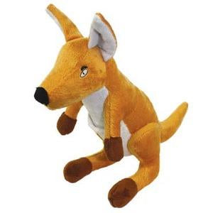 Kayla Kangaroo Jr High Quality Dog Toy - Durable Dog Toy for Medium Sized Dogs - Tuffie Toys