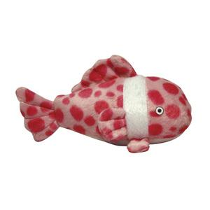 Mighty Jr Ocean Fish High Quality Dog Toy - Durable Dog Toy for Small Dogs and Puppies - Tuffie Toys