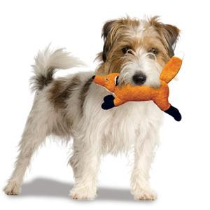 Foxy Fox Jr High Quality Dog Toy - Durable Dog Toy for Small Dogs and Puppies - Tuffie Toys
