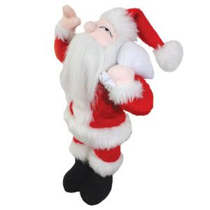 Mighty Jr Arctic Santa High Quality Dog Toy - Durable Dog Toy for Small Dogs and Puppies - Tuffie Toys