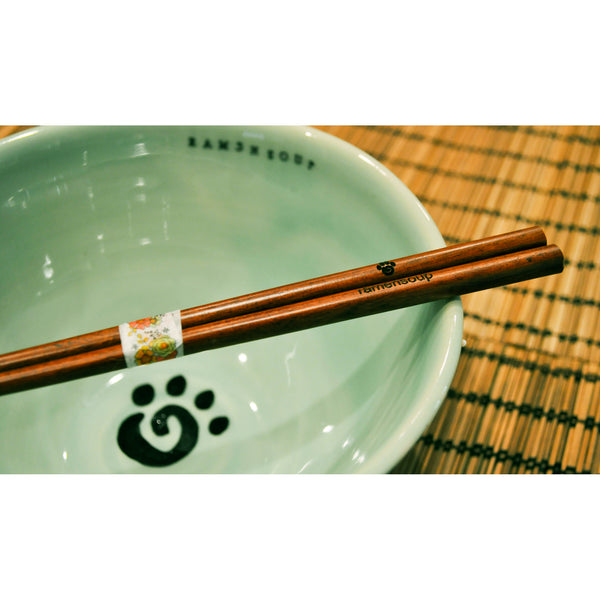 Ramen Soup Bowl and Chopsticks Set