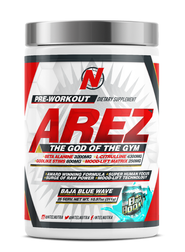 AREZ: MEGA [God of the Gym] - NTel Nutra