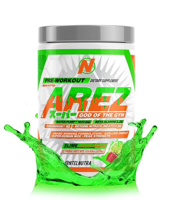 AREZ SUPER: God of the Gym - NTel Nutra AREZ