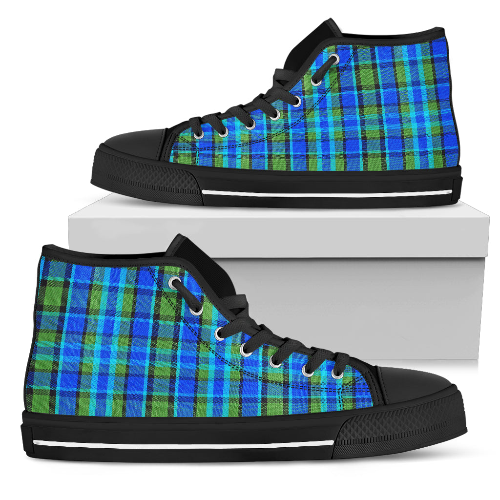 Westy Blue Plaid High Tops