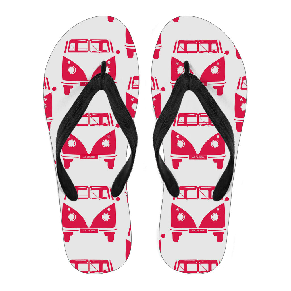 Samba Air Cooled Flip Flops White Version