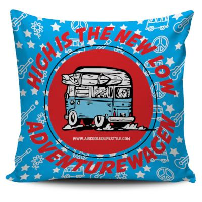 High is the New Low  - Hitop Bus Pillow Cover