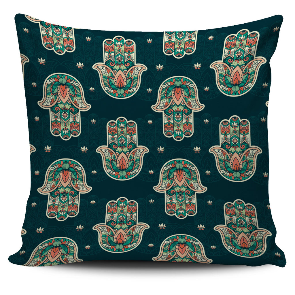 Hamsa Pillow Cover