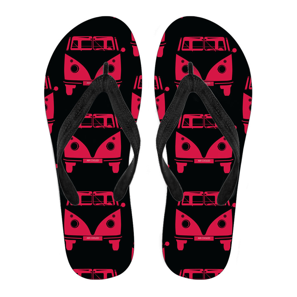 Samba Air Cooled Flip Flops Black Version