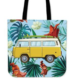 Hawaiian Bay tote bag