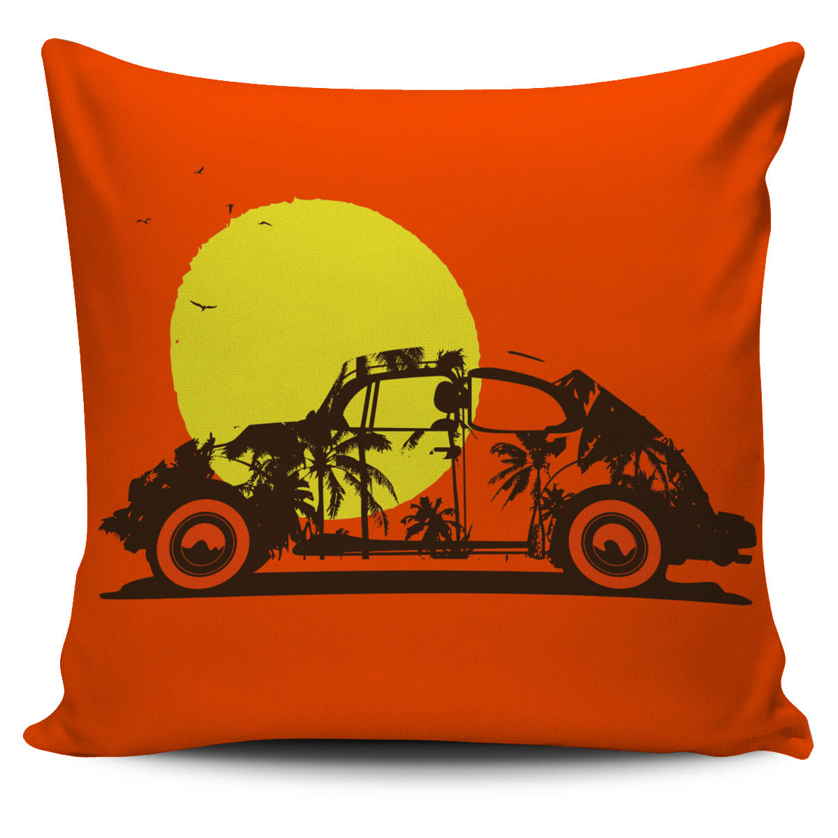 Bug Sunset Pillow Cover