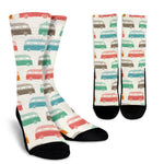 Bus Caravan Socks