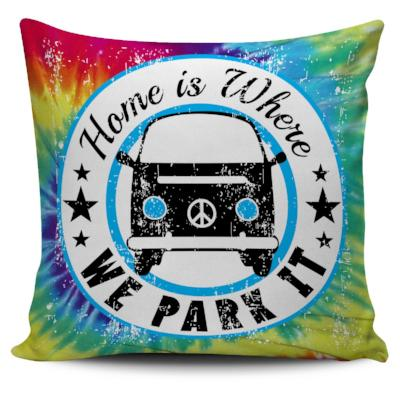 Tie Dye Pillow Case - Bay