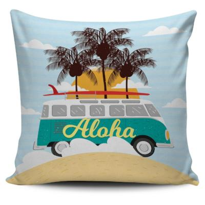 Surf Bus Pillow Case