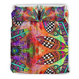 Feather Festival Bedding Set