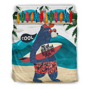Surfing Bedding Set