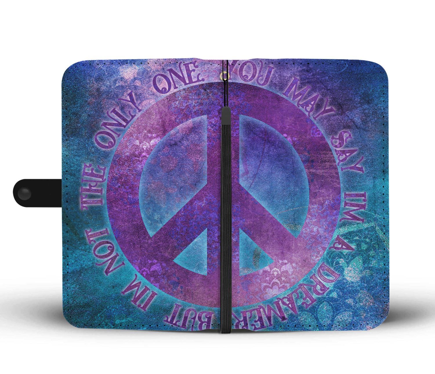 Imagine Peace Wallet Phone Case