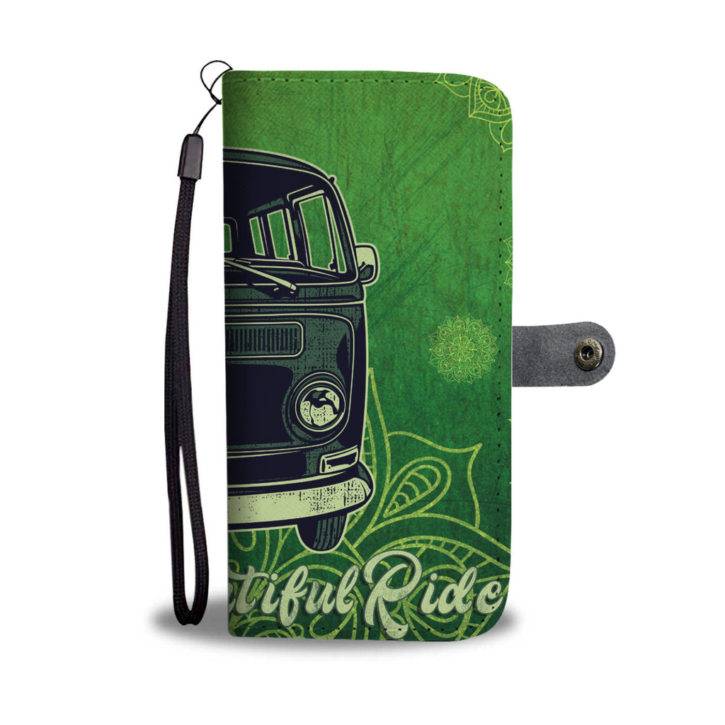 Life Is a Beautiful Ride Wallet Phone Case